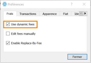 L'option replace-by-fee d'Electrum Bitcoin Wallet vous permettra d'accélérer vos transactions