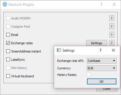 Afficher le taux de change actuel du Bitcoin