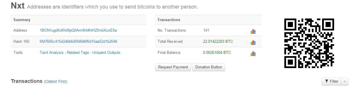 Blockchain.info - 1BCN1ugdKdWd9pQ8Am9hMhtHZfmbXzxE8a