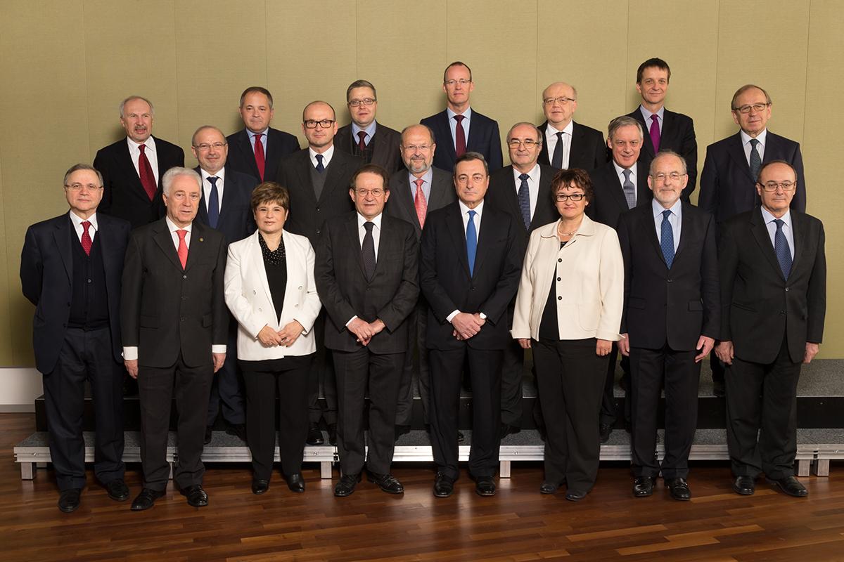 Conseil des gouverneurs de la BCE (janvier 2015)