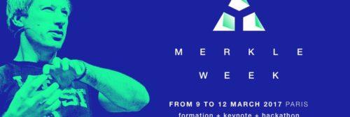 Merkle Week : Formations Certifiantes, Conférences, et Hackaton autour de Bitcoin et d'Ethereum