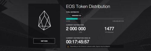 ICO record pour EOS