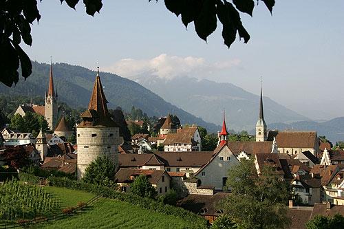 Vue sur la vieille ville, Roland Zumbühl