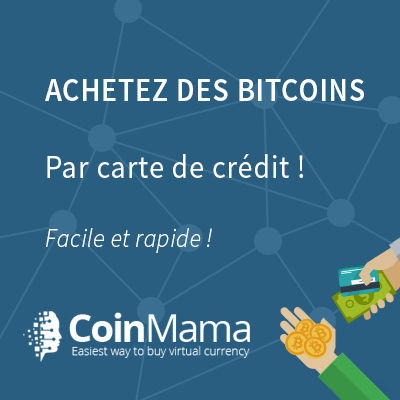 Coinmama, l'achat bitcoin ethereum facile