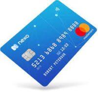 Carte Nexo paiement bitcoin